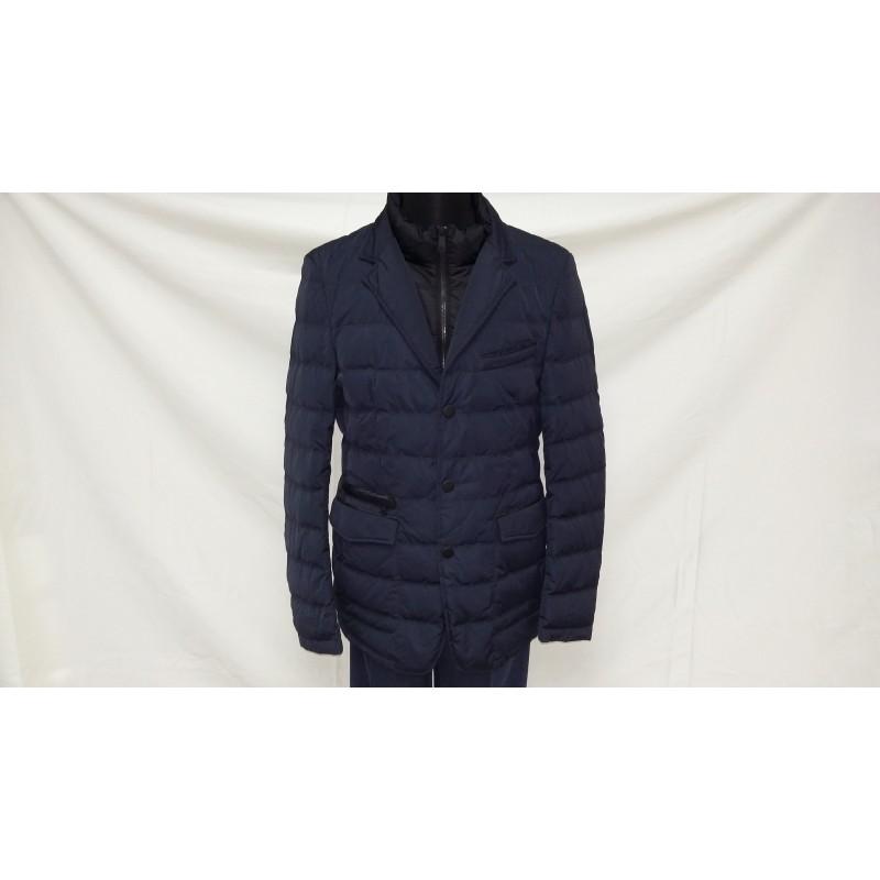 Мужская куртка-пуховик зимняя ENRICO BELENO 4476 JACKET NAVY BLUE A15E51D00018   - фото 1